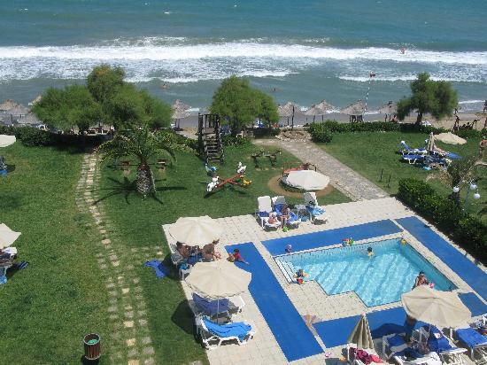 Rethymno Palace: piscine enfants et plage