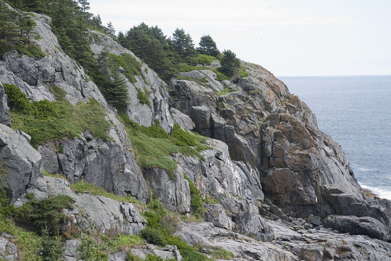 Monhegan Island, ME: View from near the end of the #1 hiking trail.