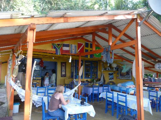 Pousada Lagamar: Restaurant: really homy and delicious food and drinks!
