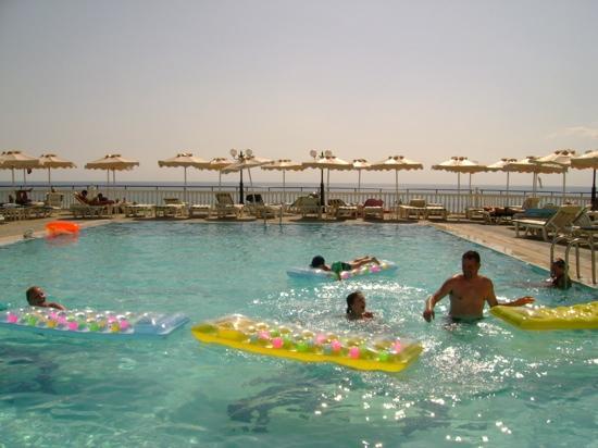 Rhodes, Greece: pool at Coralli pefkos