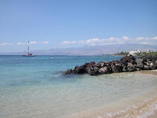 Palm Villas at Mauna Lani: Beach at the beach club