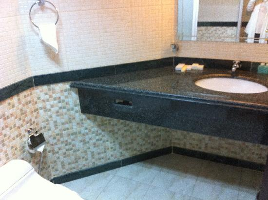 Le Mirage Sharq: sink area