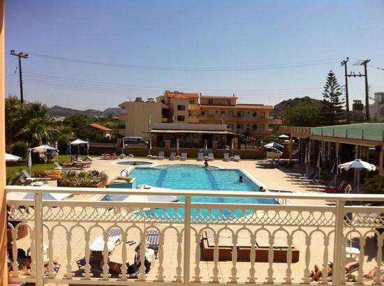 Rhodian Rose Hotel: view from room