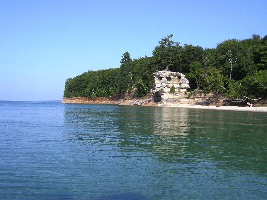 Pictured Rocks National Lakeshore: Chapel Beach Tree