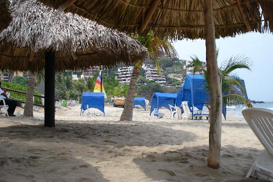 Pacifica Resort Ixtapa: The beach area