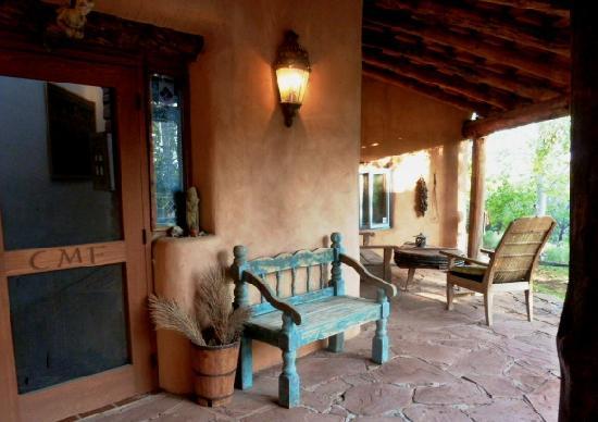 Crystal Mesa Farm B&B: the front entrance
