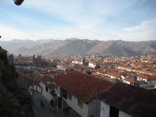 The Walkon Inn Cusco: View from the breakfast area window