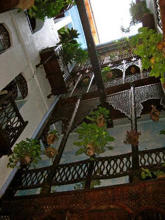 Emerson Spice: internal courtyard
