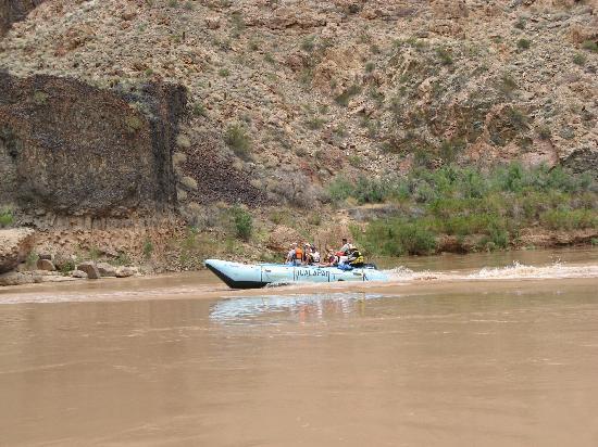 Hualapai River Runners: Boat