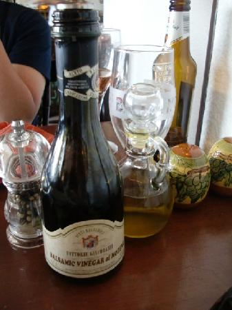 Michelangelo: Best Balsamic Vinegar I had in my life
