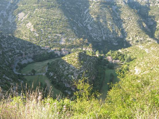 Cirque de Navacelles : Le village