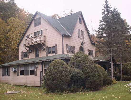 Slide Mountain Forest House: The Main House