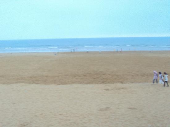 Atlas Amadil Beach Aqua Sun: Vue sur cette mer Magnifique , la elle est vu du rez de chaussé , elle est encore plus belle vue
