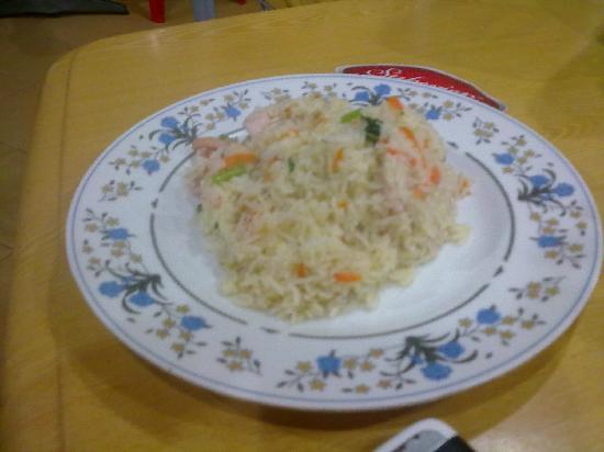 Aima Grill Fish Restaurant: riso