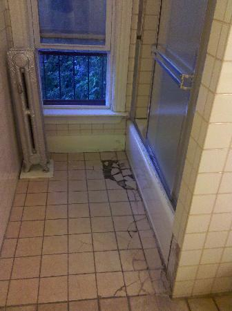 Abercrombie's Farrington Inn: Shower