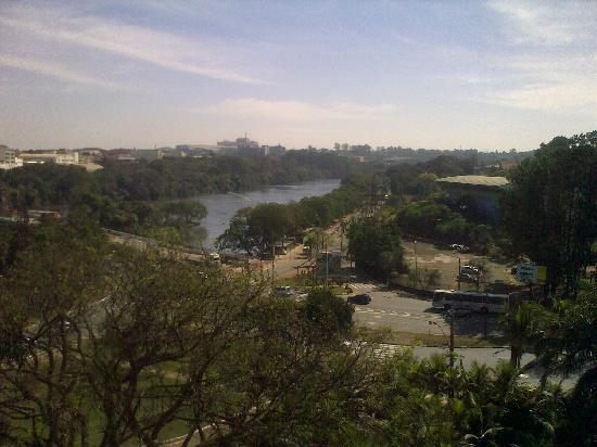 Piracicaba, SP: Blick vom 6. Stock des Hotels