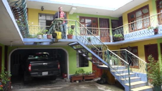 Hotel el Belen: courtyard