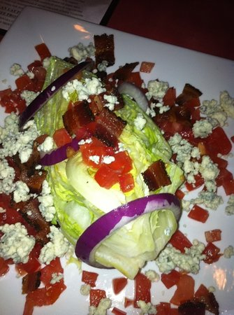 The Egg Bistro: best wedge salad ever!