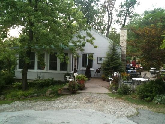 The Cottage: Front of The Building