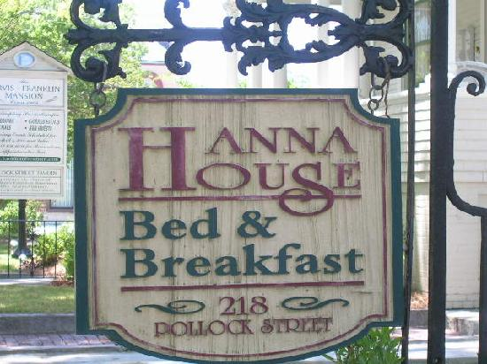 Hanna House Bed & Breakfast: Best B&B in New Bern