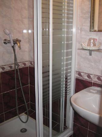 Hotel Le Ponteil : Bathroom - shower