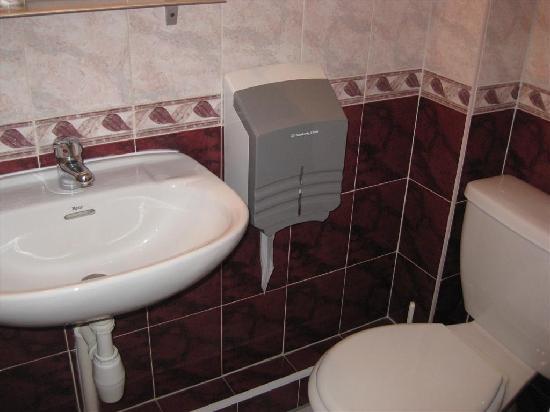 Hotel Le Ponteil : Bathroom - toilet