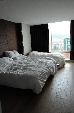 Pullman Ambassador Changwon: Very comfortable beds