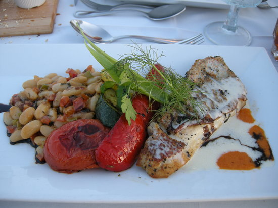 Grand Old House: Red Snapper entree