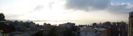 Hotel Sebnem: Panorama view from the b-fast terrace
