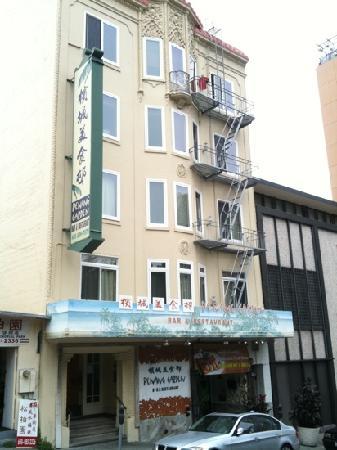 Penang Garden: Fassade Washington Street