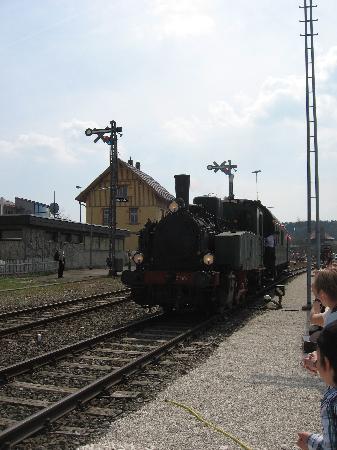 Rail Station: Dampflok