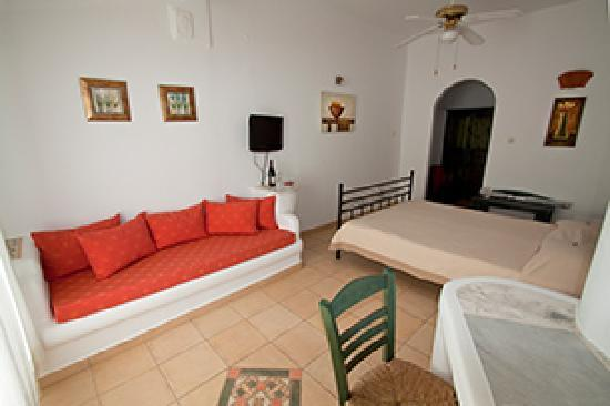 Zimmer im Hotel Manos