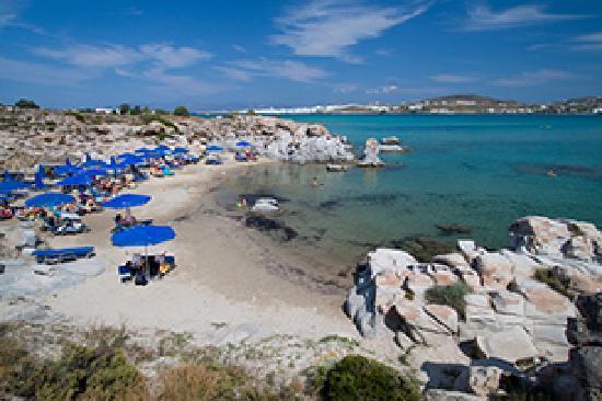 Hotel Manos: Kolimbithres Strand Naoussa