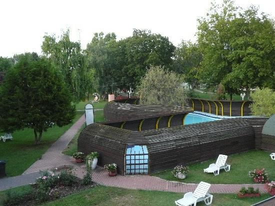 Hotel Aqua: le piscine esterne caldissime...
