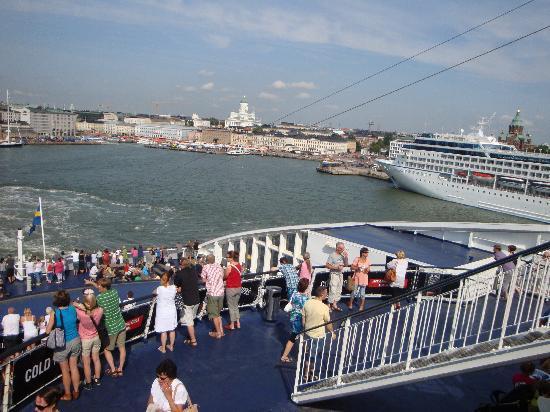 Viking Line - Day Cruises : ablegen