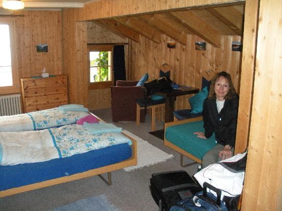Chalet Fontana: Our room!