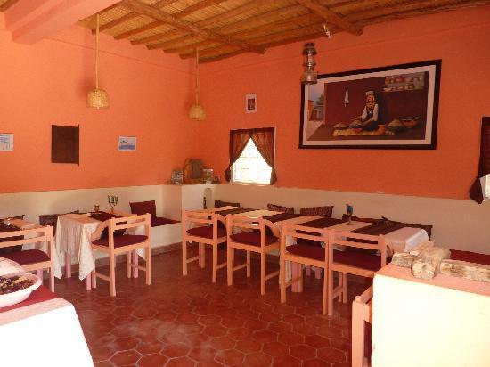 Hotel L'Arganier D'Ammelne: La cuisine y est très bonne..........