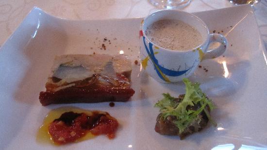 Auberge Ramstein: Marbré de foie gras (2ème visite )