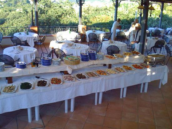 Resort Grazia Terme: The Buffet ( just the starters !! )