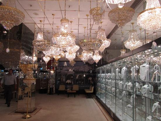 Crystal lights picture of asfour crystal showroom shubra al asfour crystal showroom crystal lights aloadofball