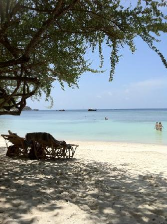 Jamahkiri Resort & Spa: the beach of rocky bay