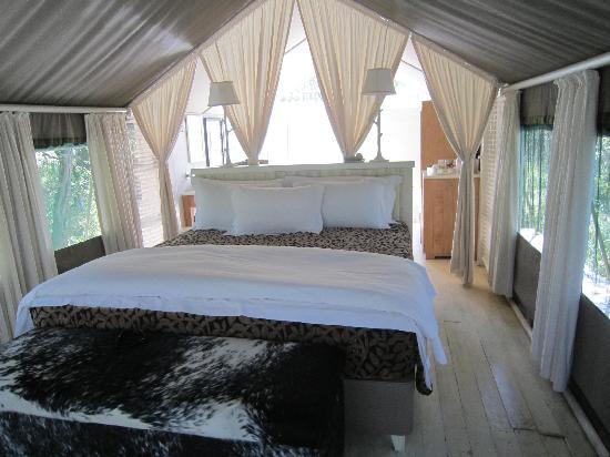Kapama Karula : Luxury Tent interior