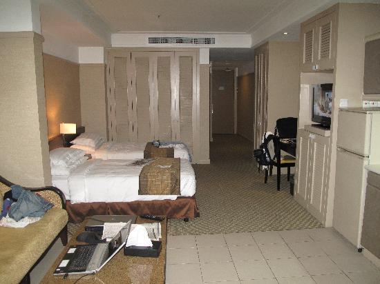 แปซิฟิก รีเจนซี่ โฮเต็ล สวีท: Room view two
