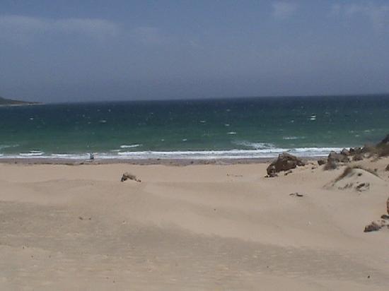 Playa de Bolonia: agua critalina