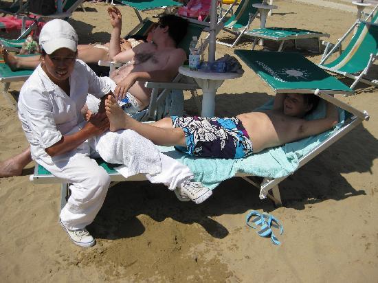 Hotel Ettoral: Strand Massage