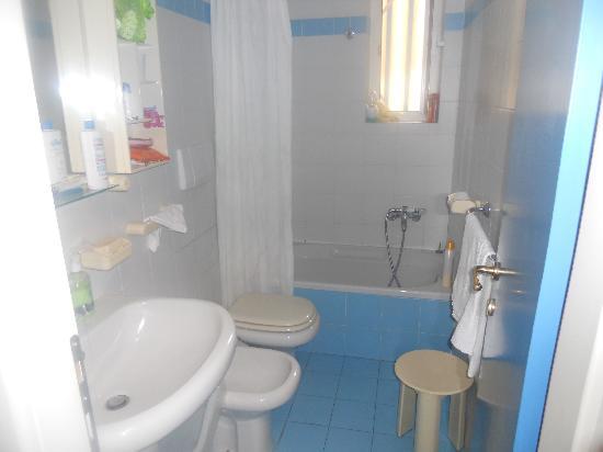 Hotel Residence Mediterraneo : Bagno