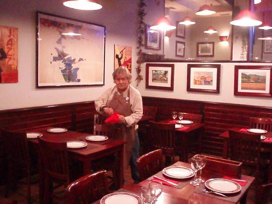 El Rincon De Andy: Restaurant indoors