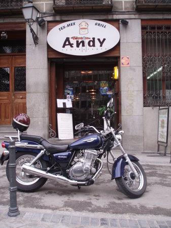 El Rincon De Andy: entrance