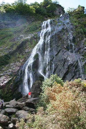 Enniskerry, Irland: Powerscourt Waterfalls