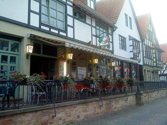 Rotenburg an der Fulda, Tyskland: Restaurant Rialto